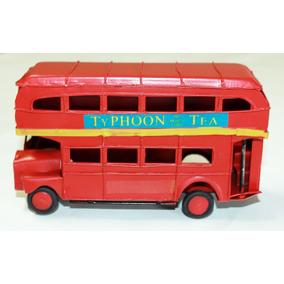 Ônibus Typhoon Duplo Vermelho