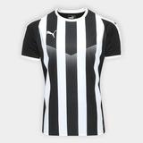Camisa Puma Liga Jersey Striped Listrada - Original + Nfe 1e859d3571395