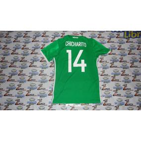 Jersey Playera adidas De Selección De Mexico Chicharito 6133dbd7603ac