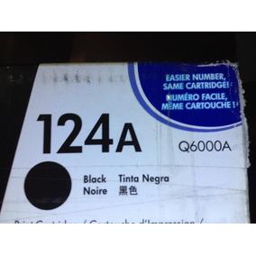 Cartucho Usado Vacío Hp 124-a Q6000a Toner