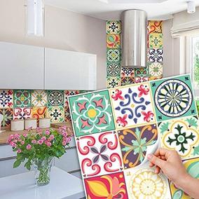 Vinilos Decorativos Para Azulejos. Cocina. Baño. Pack Por 12
