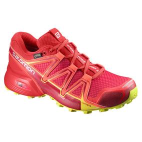 Tenis Mujer Deportivo Speedcrossvario2gtx L39847400 Salomon