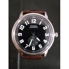 46a3f927b5a Relogio Vivara Masculino Usado - Relógio Masculino
