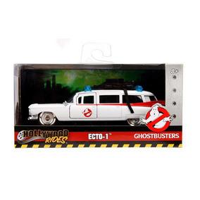 Miniatura Cadillac Ecto 1 Caça Fantasmas Ghostbusters 1/24