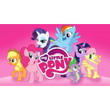 Kit Imprimible My Little Pony Fiesta 3x1