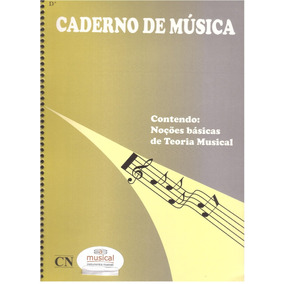 Caderno De Musica Pautado