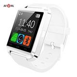 Amazingforless White Bluetooth Touch Screen Smart Wrist Watc