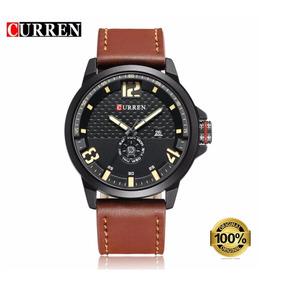 Relógio Masculino Original Curren Esportivo + Brinde + Nf