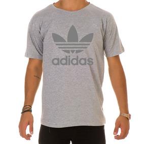 533c429869 Camisa Adidas Cinza Casual - Calçados