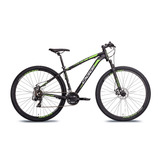 Bicicleta 29 Oggi Hacker Sport Shimano 21v + Brinde + Nfe