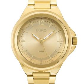 0e810f3955b Relogio Feminino Replica Luxo Euro - Relógio Euro Feminino no ...