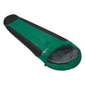 Saco De Dormir Mummy Ntk Preto E Verde