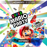Mario Party Sellado Fisico