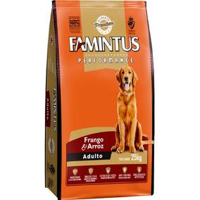 Ração Famintus Premium Cães Adultos Frango E Arroz 25 Kg