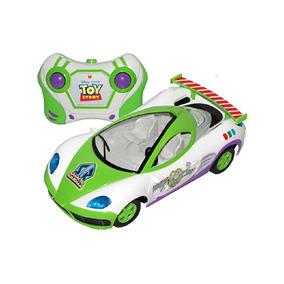 Carro Controle Remoto 3 Funções Toy Story Star Racer Candide