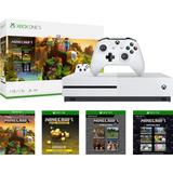 Xbox One S Consola With Minecraft Tienda Fisica