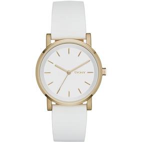 Relógio Luxo Feminino Dkny Donna Karan Original Ny2340/2bn