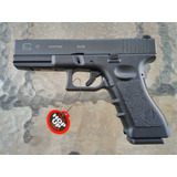 Pistola Airsoft Glock 17, Gas Blowback, Kit Completo !!
