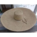 Chapéu Palha Mexicano Sombreiro Chapelão Grande