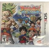 Dragonball Fusions 3ds Nintendo Nuevo Sellado Stock