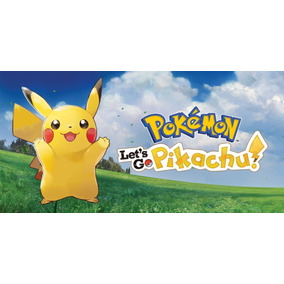 Jogo Do Switch Pokemon: Lets Go Pikachu Promoção