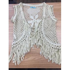 Colete De Croche De Menino - Calçados f072ab61783