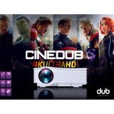 Proyector Cinedub 4k Ultra Hd Wifi