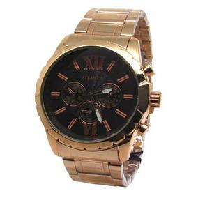 30b0a0f17dc Relógio Feminino Rosé Atlantis - Joias e Relógios no Mercado Livre ...