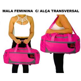 Bolsa Importada Feminina De Academia Treino Mala Viagem Rosa