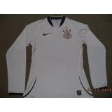 Camisa Manga Longa Corinthians 2009 Oficial Nike - Jogador P ed5d60e7b1eb3