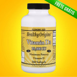 Vitamina D3 10.000 Ui 360 Caps Softgels Healthy Origins
