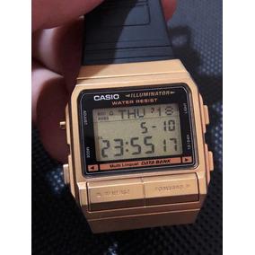 3f04b56b841 Caixa De Relogio Casio Data Bank - Relógios no Mercado Livre Brasil