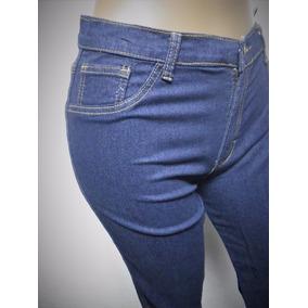 Jeans Pantalon Tallas Grandes Strech Azul Talla Plus 36