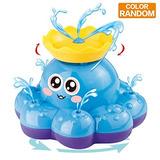 Juguete Baño Pulpo Pulpo Agua Color Ramdom Puede Flotar Gira