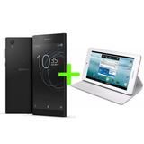 Sony Xperia L1 Liberado, Color Negro + Tablet Noblex 7