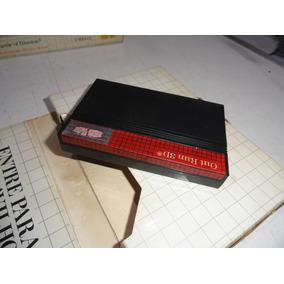 Outrun 3d Master System Caixa De Papelão Sem Manual