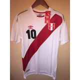 Camiseta Umbro De La Seleccion Peruana Mundial Rusia 2018
