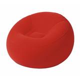 Sillon Inflable Puff Rojo *envío Gratis