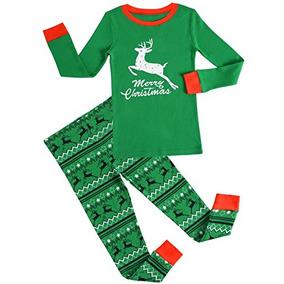 Gys Ninos Pijamas De Navidad Ninos Ropa De Dormir Reno Ropa