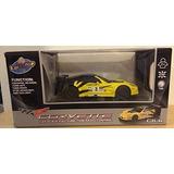 Lollipop 1:24 Scale Corvette Full Function Rc Amarillo / Neg