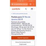 Gf Rio De Janeiro 2019| Transferencia De Inscricao