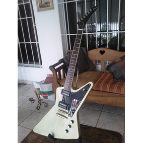 Epiphone Explorer Tv Silver Pro Dimarzio Fender Gibson