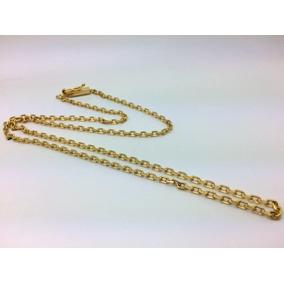 191b393f606 Cordao De Ouro Cadeado 3mm - Joias e Bijuterias no Mercado Livre Brasil