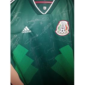 Playera Autografiada X La Seleccion Mexicana en Mercado Libre México e621f1c82df3e