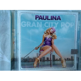 Cd Paulina Rubio - Gran City Pop