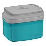 Caixa Térmica Cooler Com Alça Soprano 5 Litros Azul