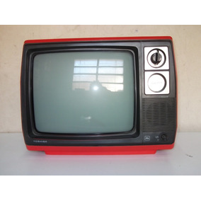 Televisor Antiguo Toshiba. B/n