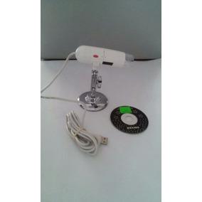 Microscopio Digital Usb, 2mp, 4 Led White Laight.
