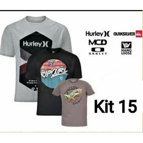 Camisetas Surf Atacado - Camisetas Manga Curta Masculino no Mercado ... 9431b258e4a
