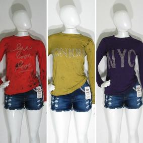 15 Blusas Feminina Varios Modelos